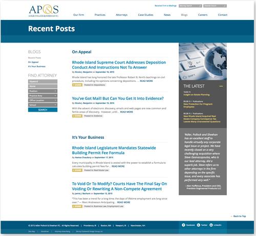 AP&S-Blogs