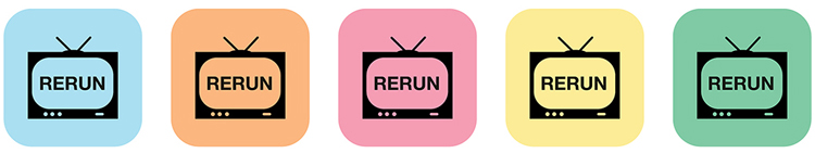 Rerun-TVs