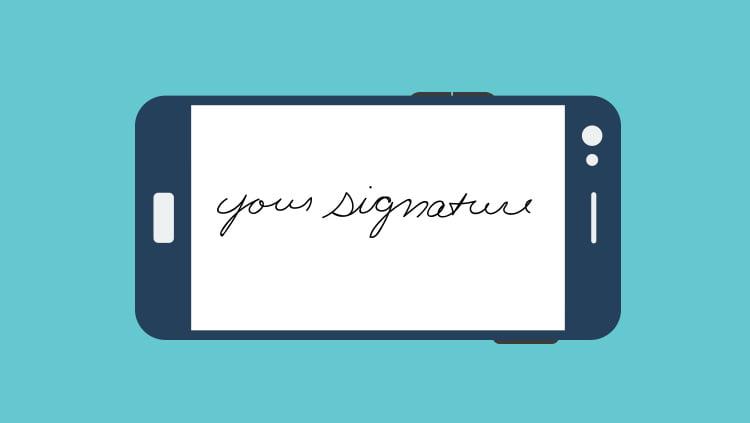 Header Graphic Mobile Signature
