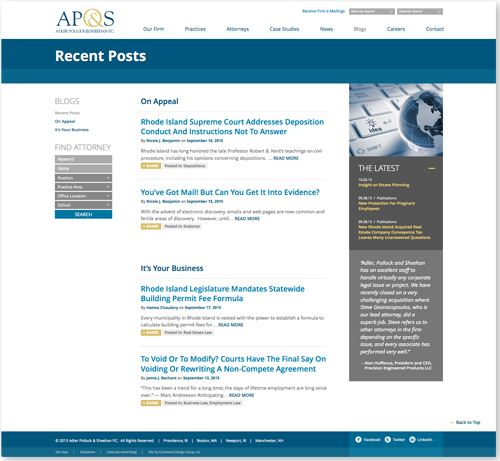AP&S-Blogs