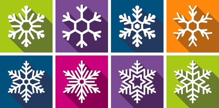 Snowflakes Cards