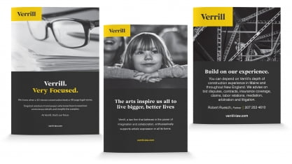 Verrill Print Ads