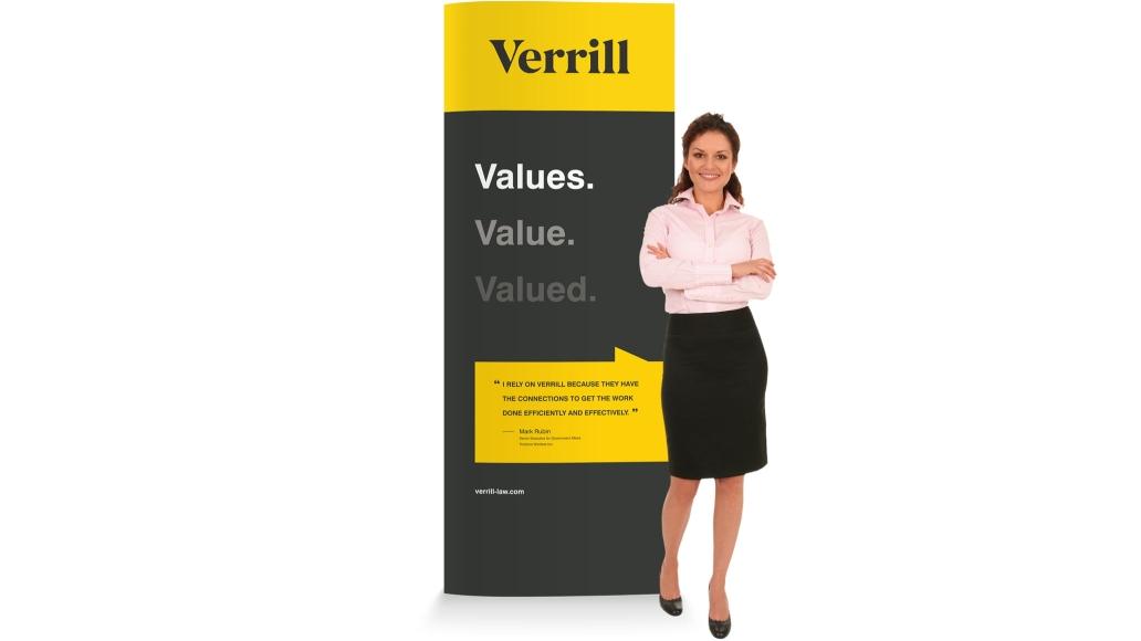 Verrill Pullup Banner