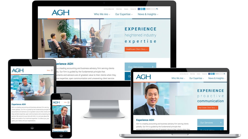 Agh Website All Devices