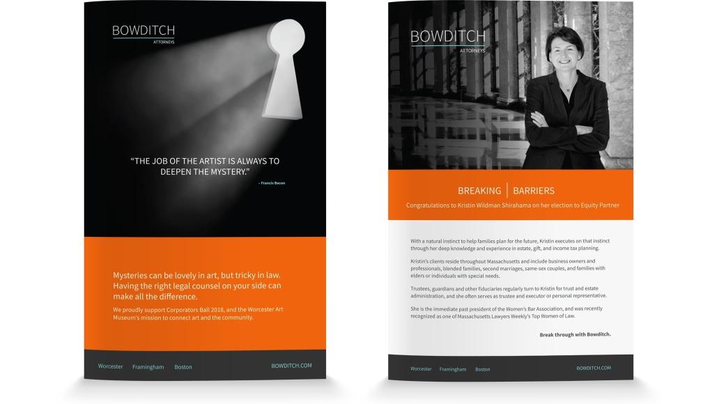 Bowditch Print Ads