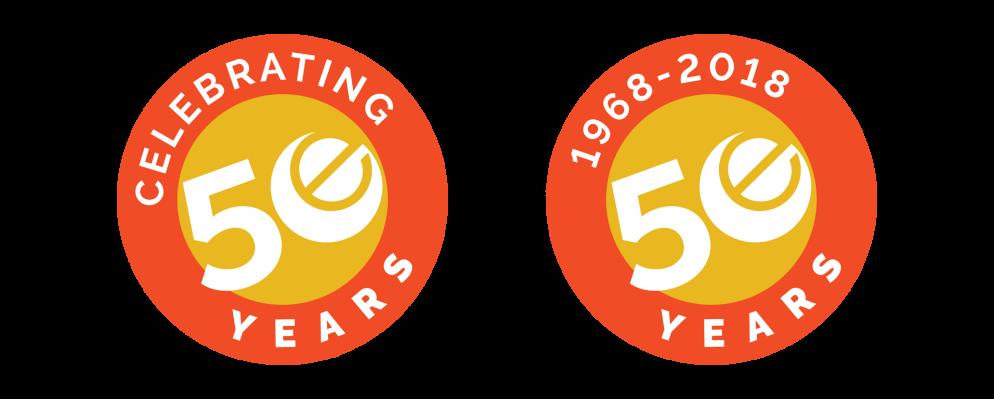 Edelstein Anniversary Logo