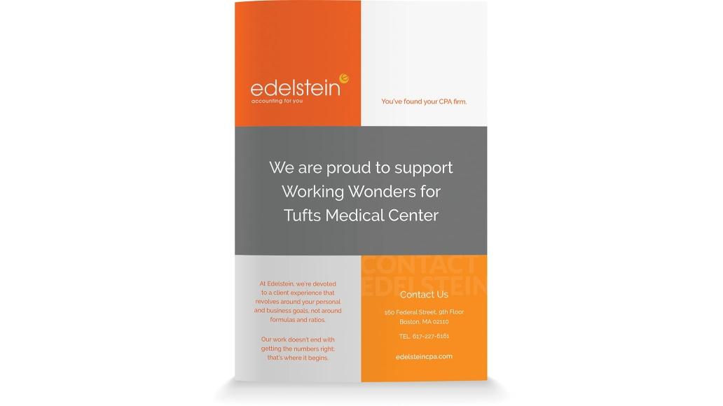 Edelstein Sponsorship Ad
