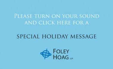 Foley Hoag Ecard 2012