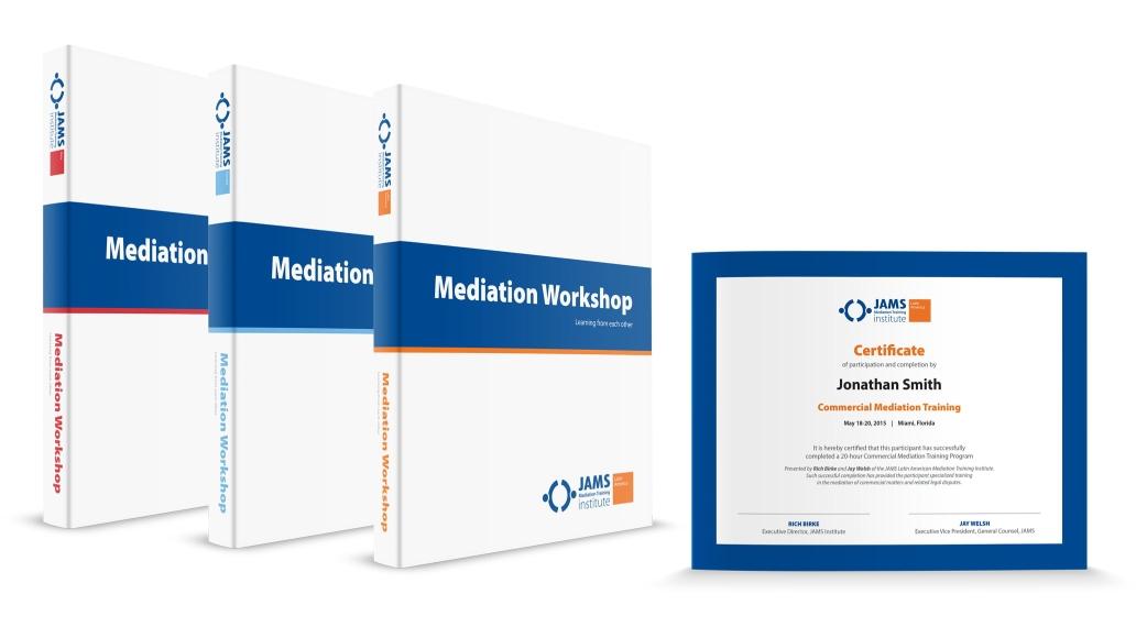 Jams Binders Certificate