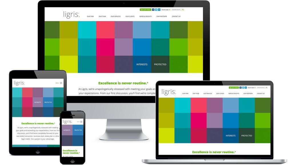 Ligris Website All Devices