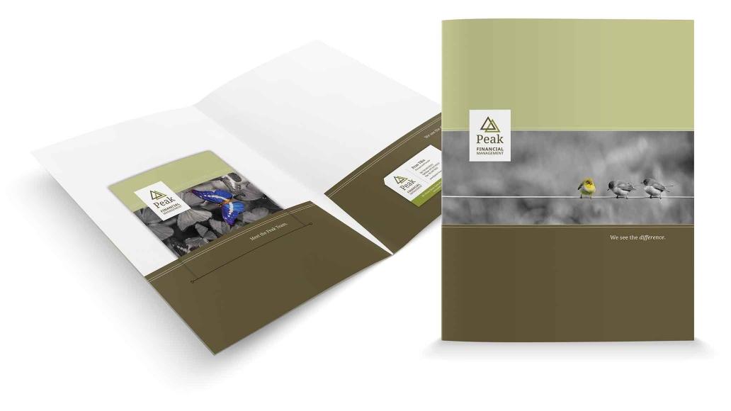 Peak Financial Pocket Folder