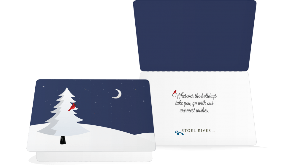 Stoel Rives Holiday Print Card 2015