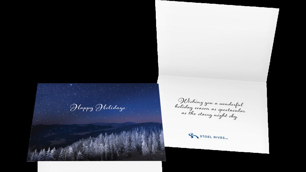 Stoel Rives Holiday Print Card 2016