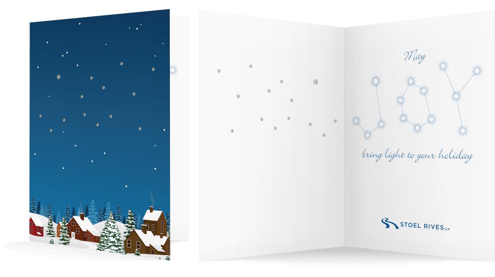 Stoel Rives Holiday Print Card 2017