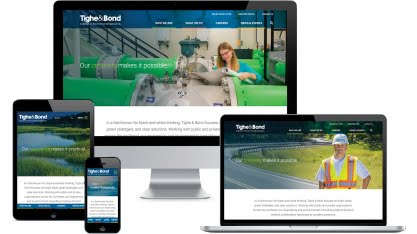 Tighe Bond Website All Devices