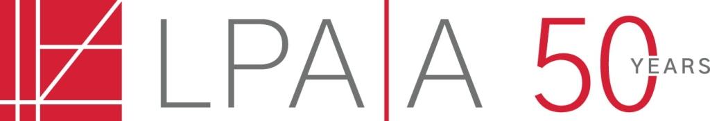 Lpaa Anniversary Logo