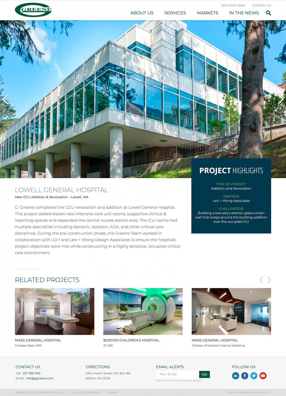 Ggreene Project Pages