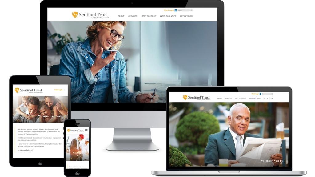 Sentinel Trust Website