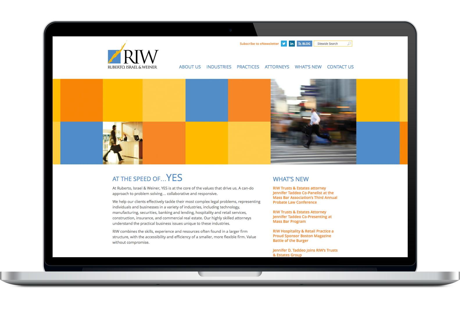 Riw Website After