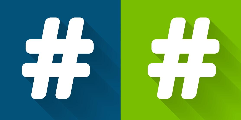Hashtagsgraphic