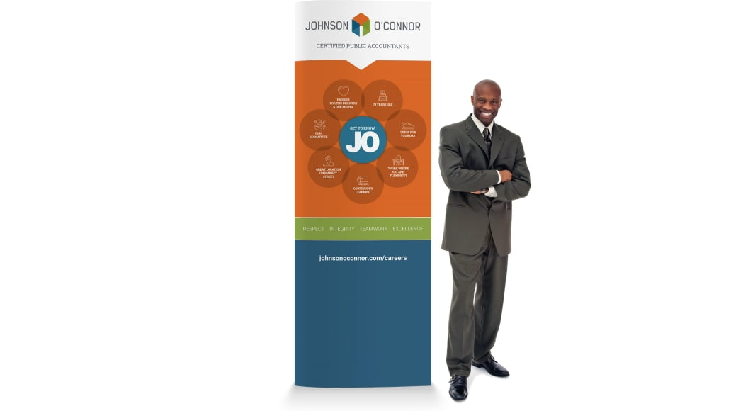 Johnson Oconnor Pullup Banner