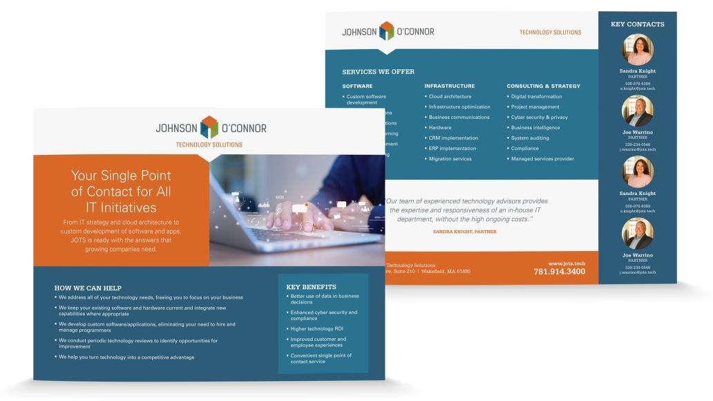 Johnson Oconnor Sell Sheet