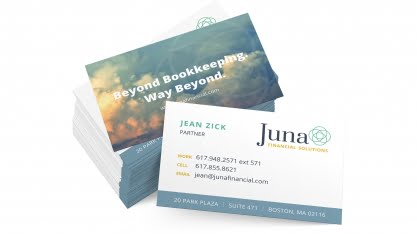 Juna Business Card