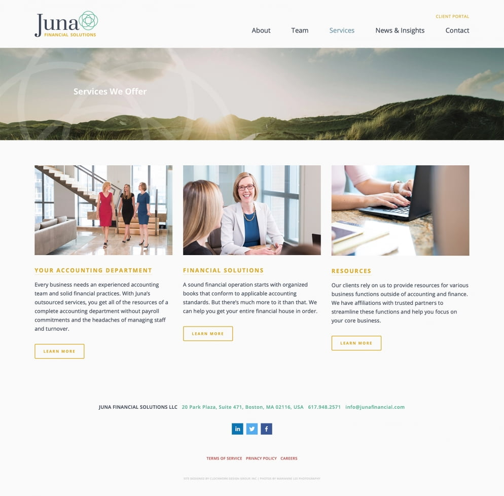 Juna Services