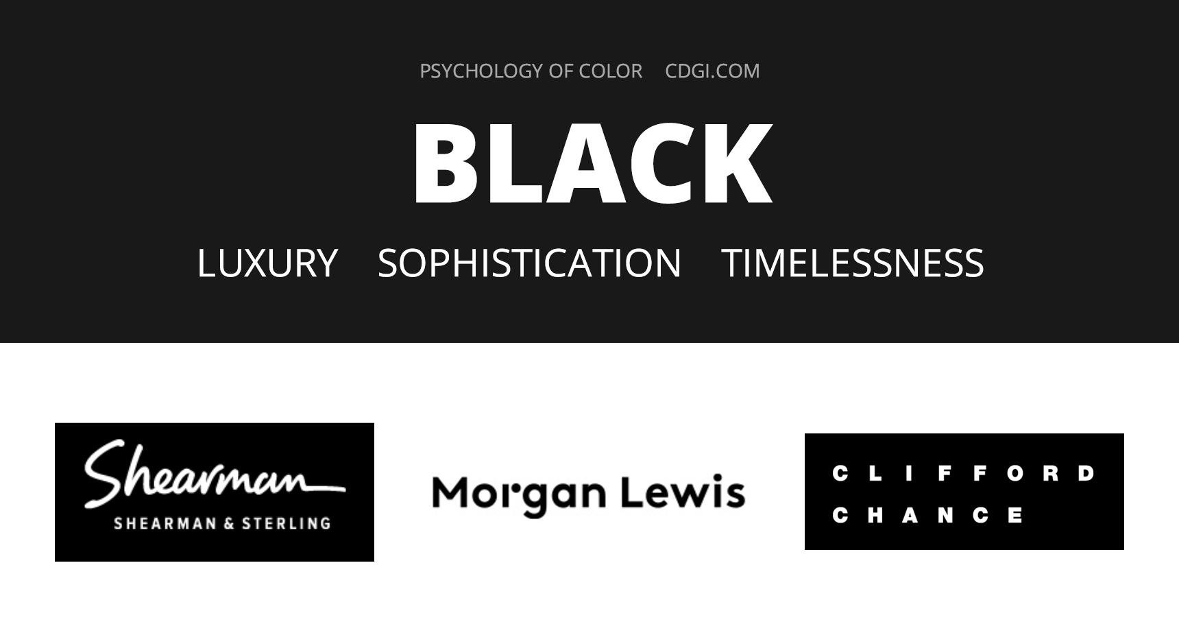 Black: Luxury, Sophistication, Timelessness