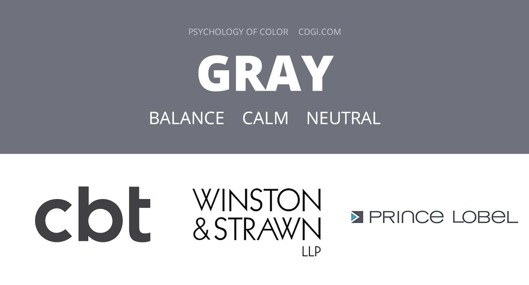 Gray: Balance, Calm, Neutral