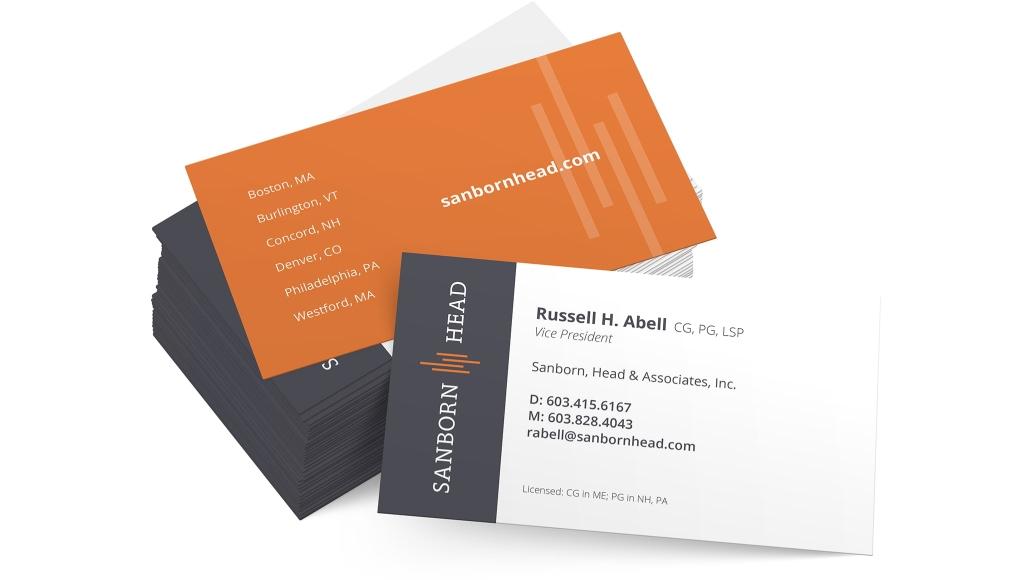 Sanborn Head Business Cards