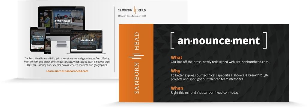 Sanborn Head Announcement Card2
