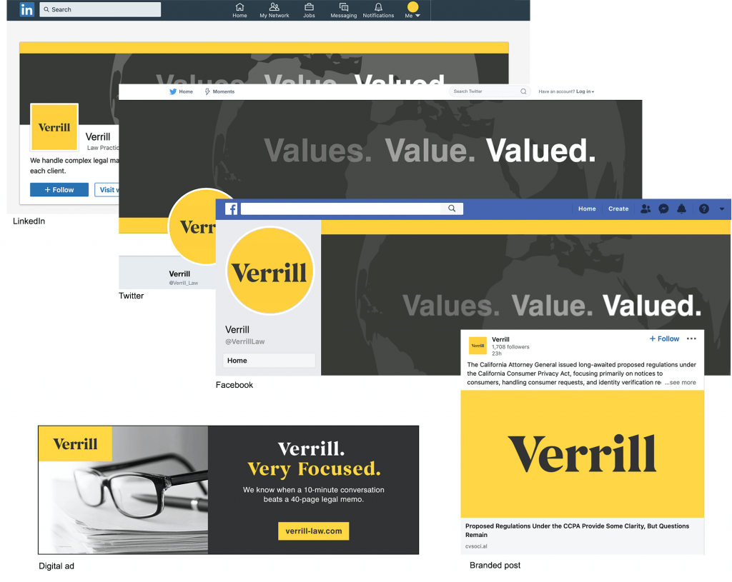 Verrill Social Graphics and Digital Ad