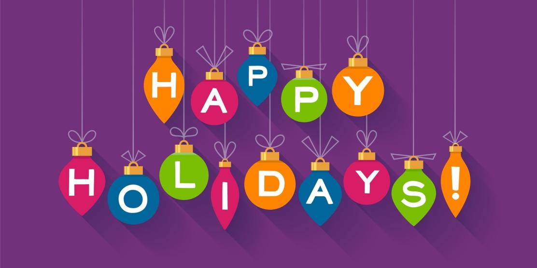 Happy Holiday Ornaments