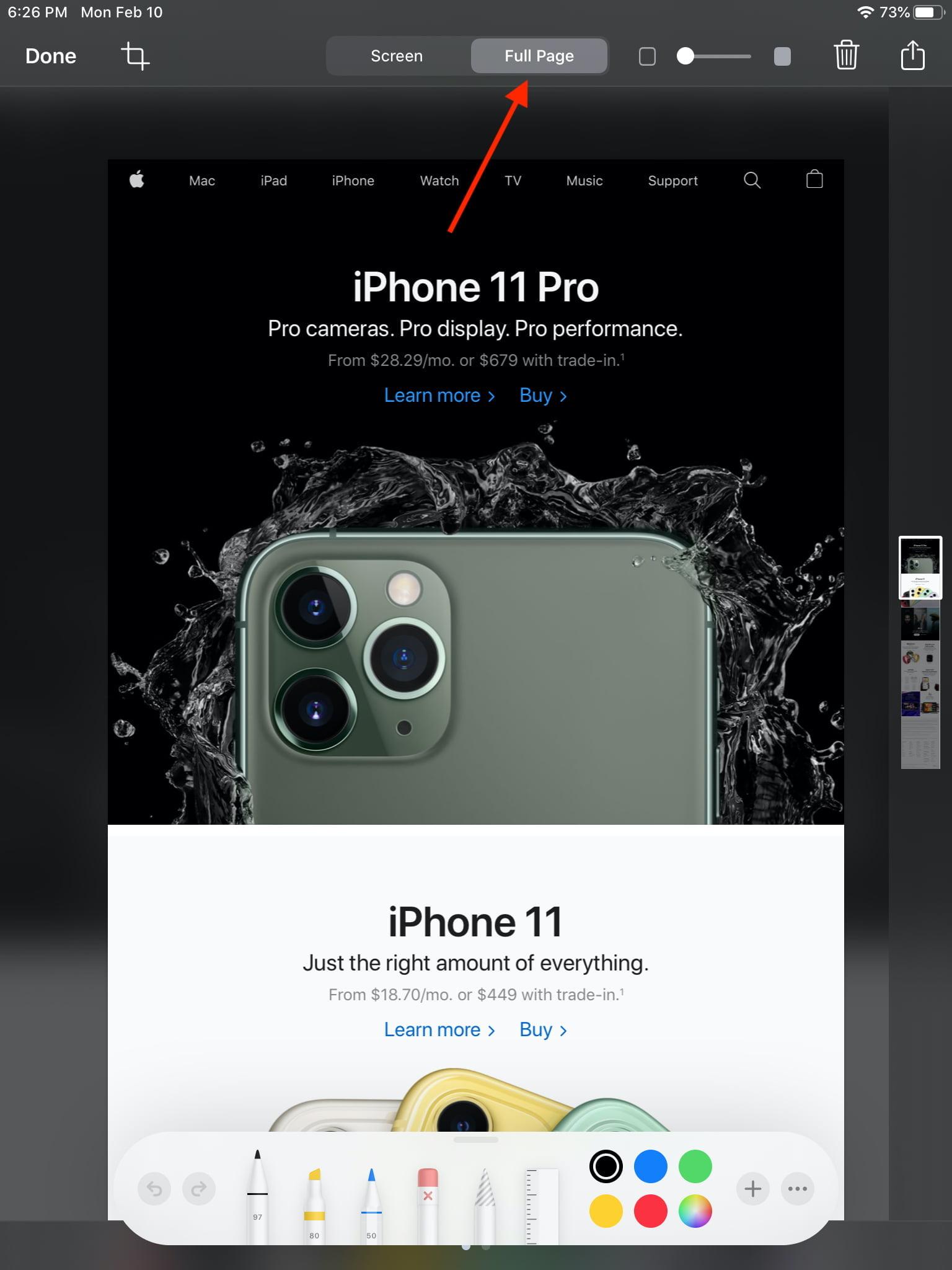 iOS Capture 3