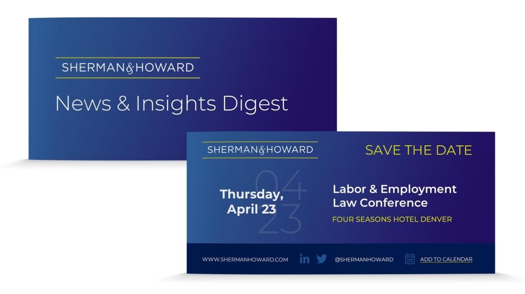 Sherman Howard Email Header Digital Invite