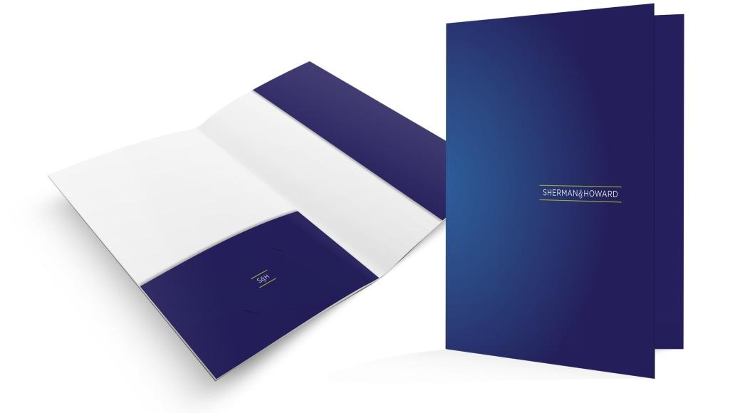 Sherman Howard Pocket Folder