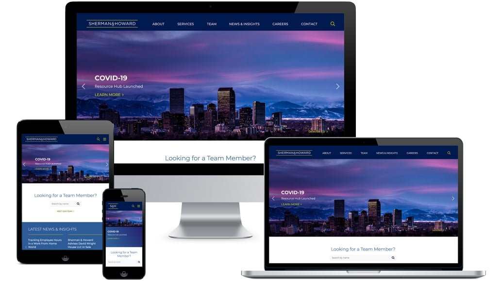 Sherman Howard Website