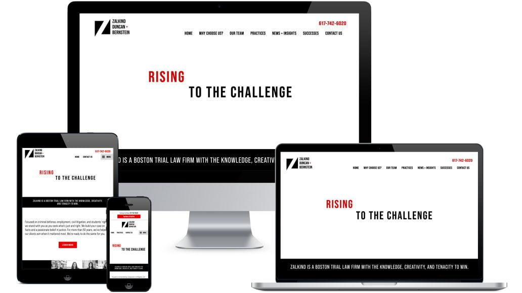 Zalkind Website