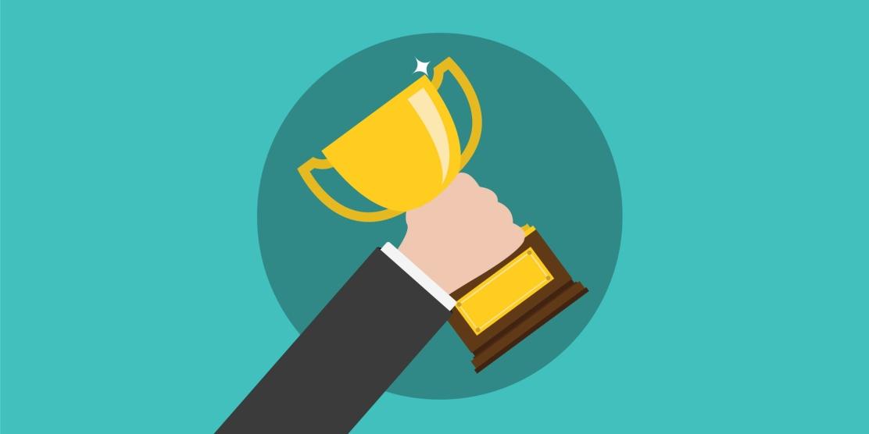 Award Trophy Winner