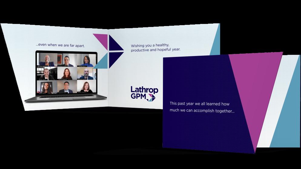Lathrop Holiday Print Card 2020