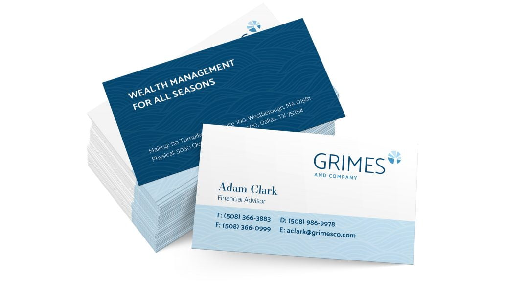 Grimes Business Cards