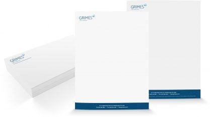 Grimes Letterhead Envelopers