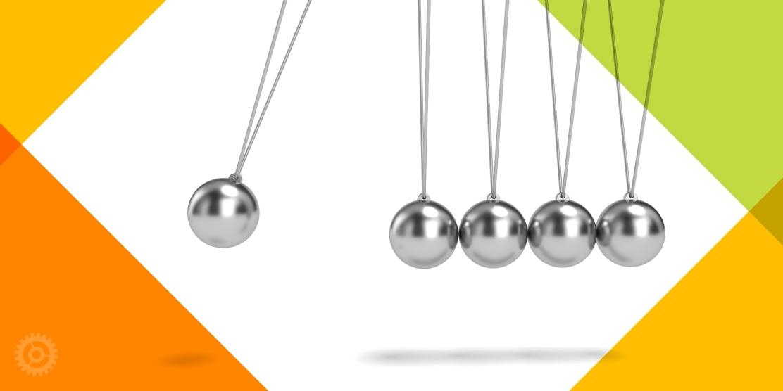 Newtons Cradle Pendulum Balls