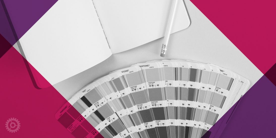 Pantone Color Fan And Notebook
