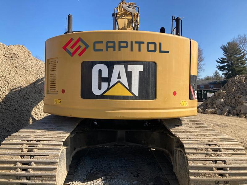 Capitol Excavator Backside