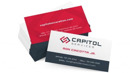 Capitol Services Business Cards