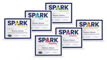 Spark Certificates