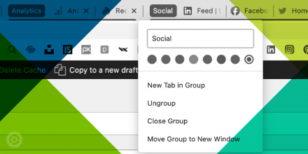 How to Use Google Chrome Tab Groups & Save Them for Next Time!