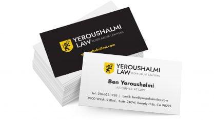 Yeroushalmi Law Bizcards